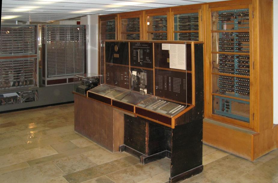 Konrado Zuse pagamintas kompiuteris Z4 muziejuje