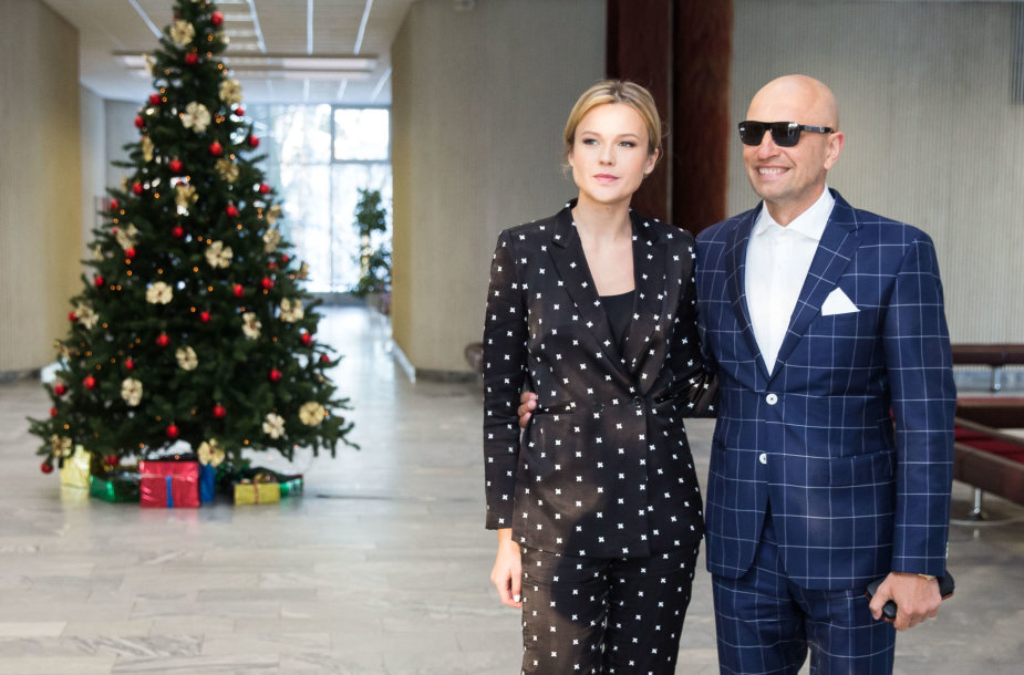 Tadas Karosas ir Agnė Kavalnytė