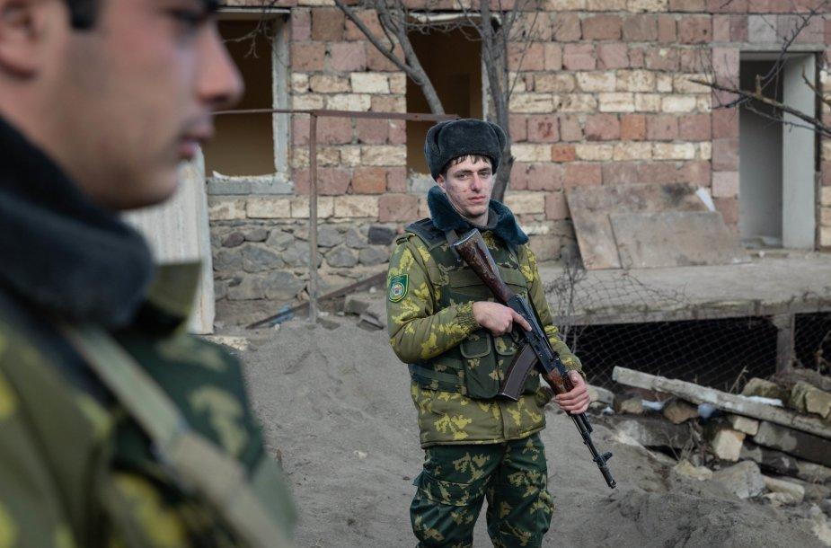 Armėnų kariai Kalnų Karabache