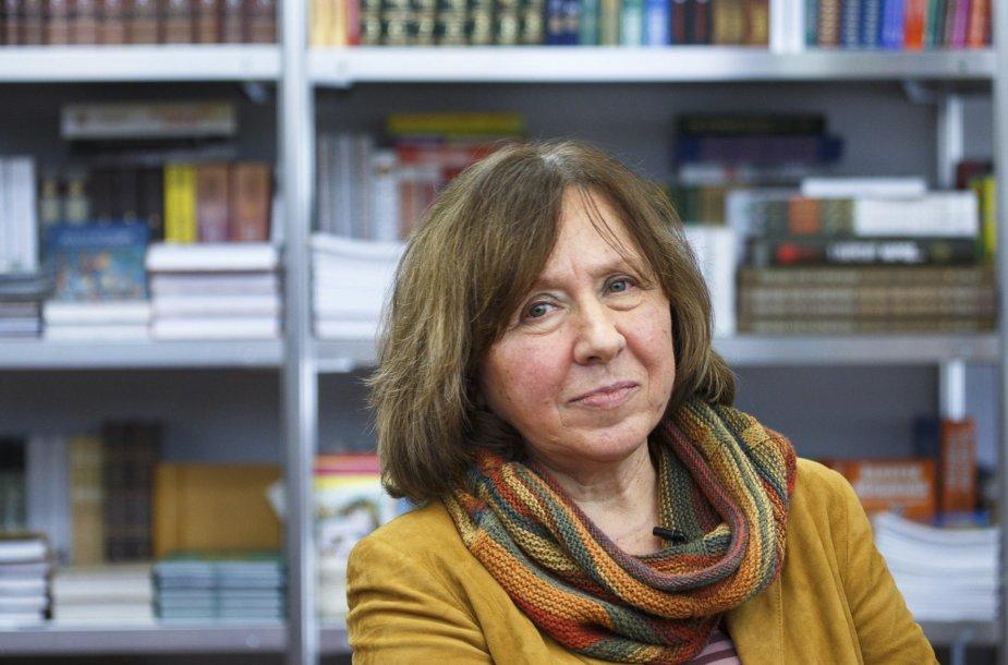 Baltarusių rašytoja Svetlana Aleksijevič
