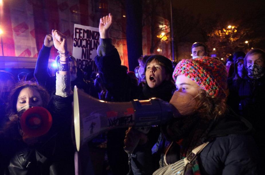 Nauji protestai Lenkijoje