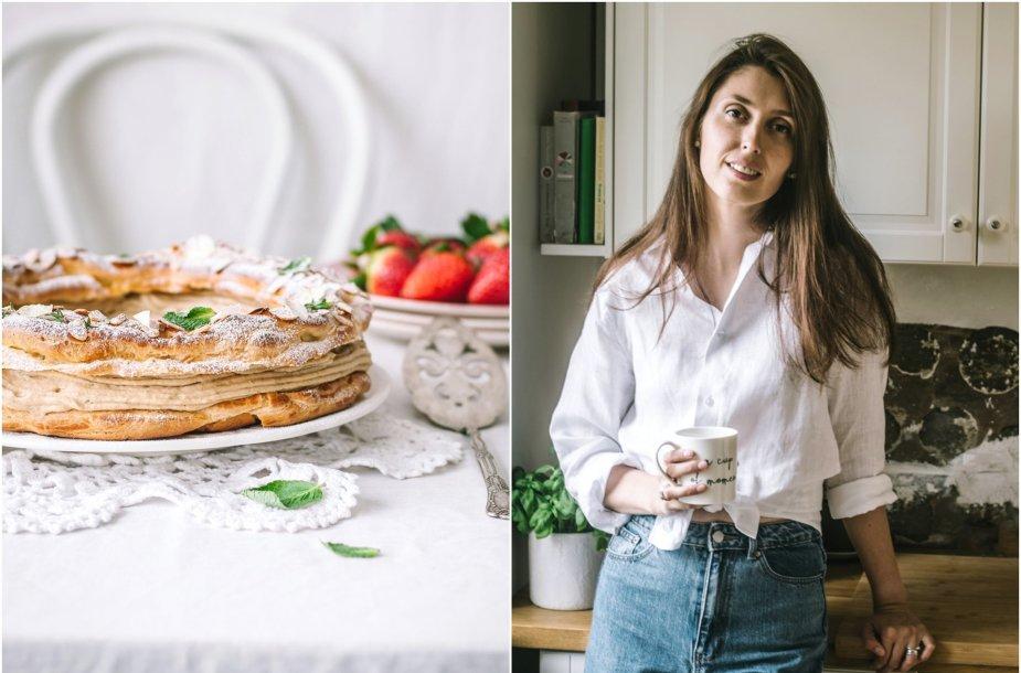 """Tinklaraštininkė Jurgita ir jos keptas pyragas """"Paris-Brest"""""""