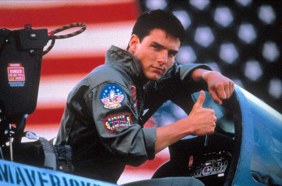 """Tomas Cruise'as filme """"Asai"""" (1986 m.)"""