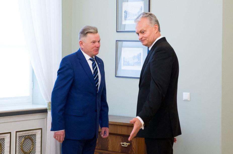 Jaroslavas Narkevičius ir Gitanas Nausėda