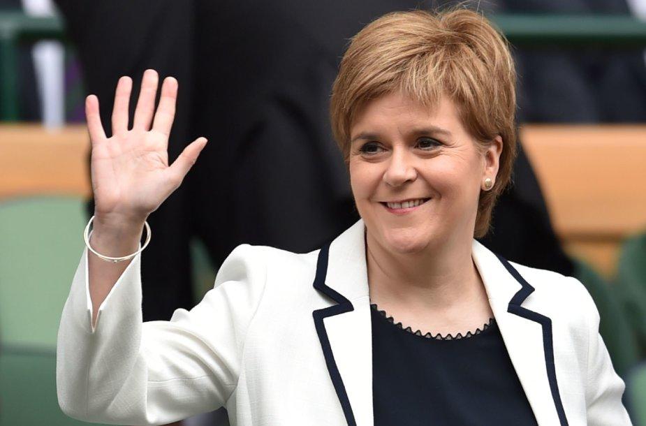 Škotijos premjerė Nicola Sturgeon