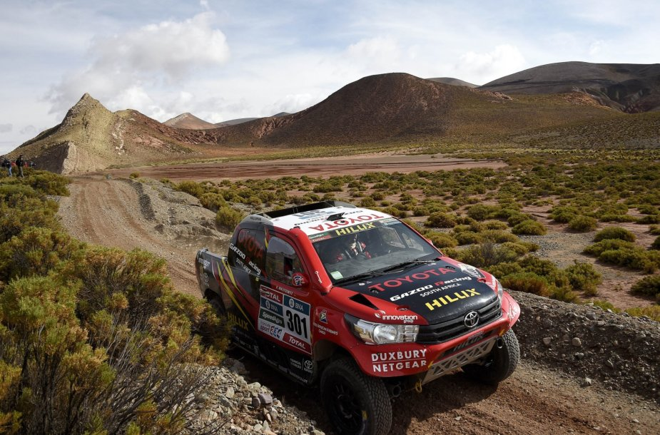 4-as Dakaro ralio etapas