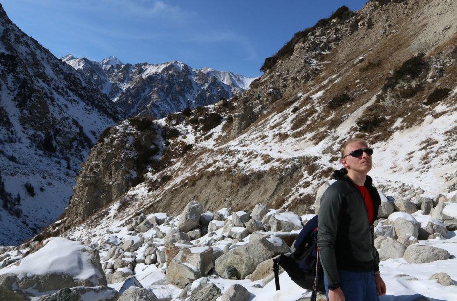Alpinistas Saulius Saikauskas