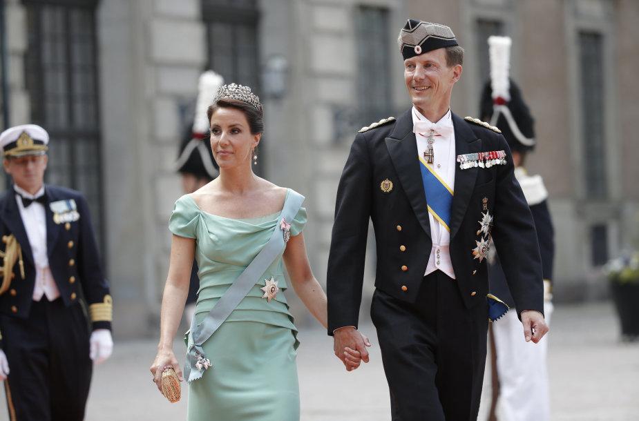 Danijos princas Joachimas ir princesė Marie Agathe