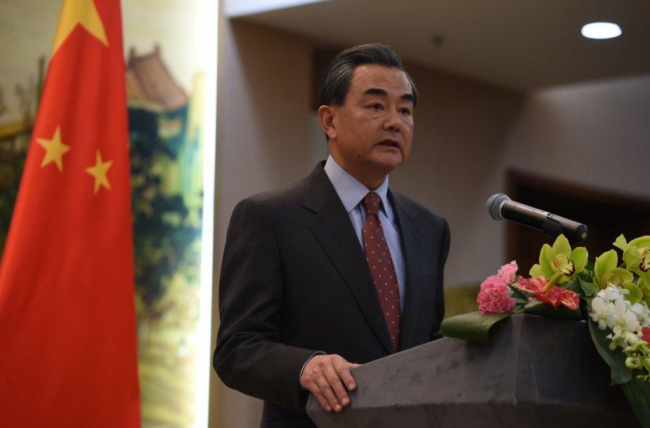 Kinijos užsienio reikalų ministras Wang Yi