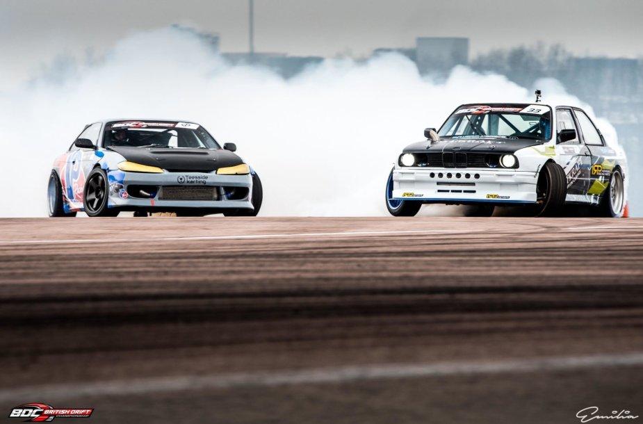 Aurimo Vaškelio BMW šonaslydžio varžybose