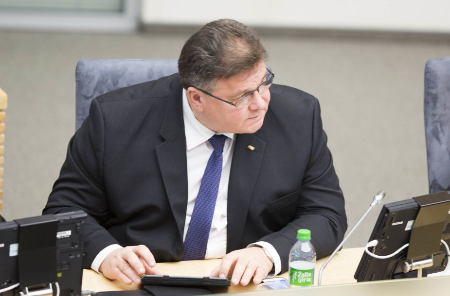 Užsienio reikalų ministras Linas Antanas Linkevičius