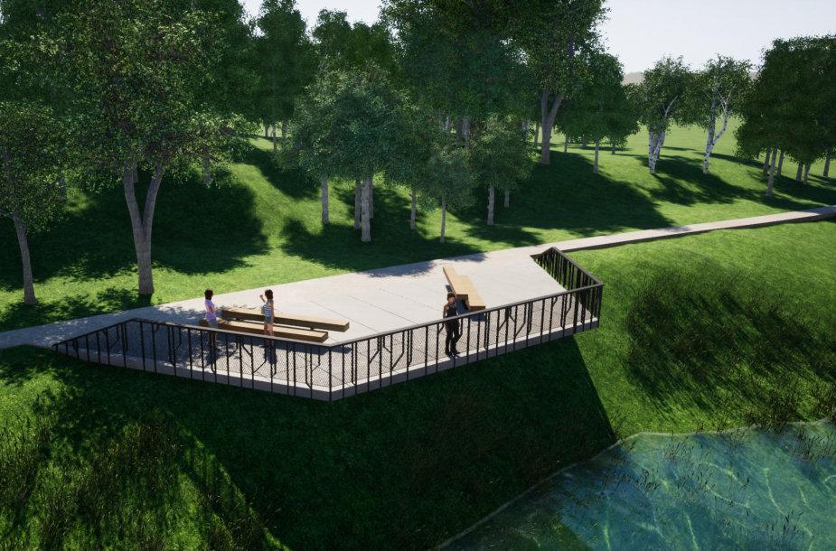 Panevėžio statybos trestas (PST) modernizuos Panevėžio kultūros ir poilsio parką
