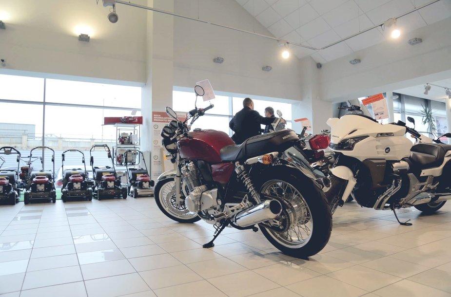"""""""Honda"""" motociklai"""