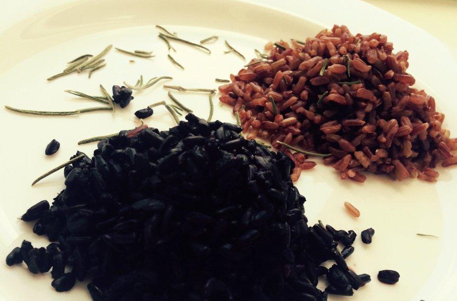 Juodieji ir raudonieji ryžiai