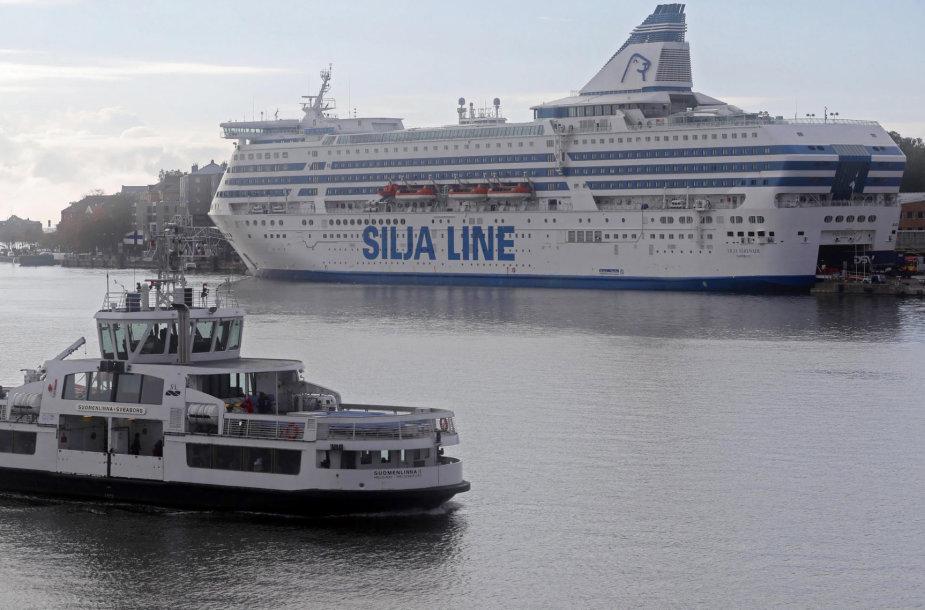 """""""Tallink"""" keltas Helsinkyje"""