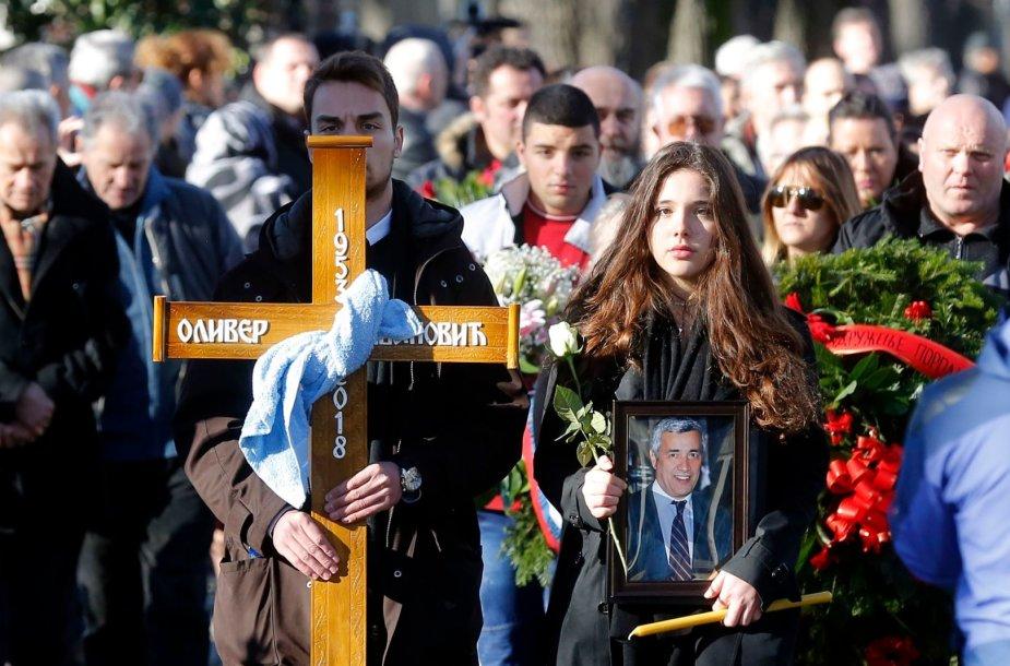 Oliverio Ivanovičiaus laidotuvės