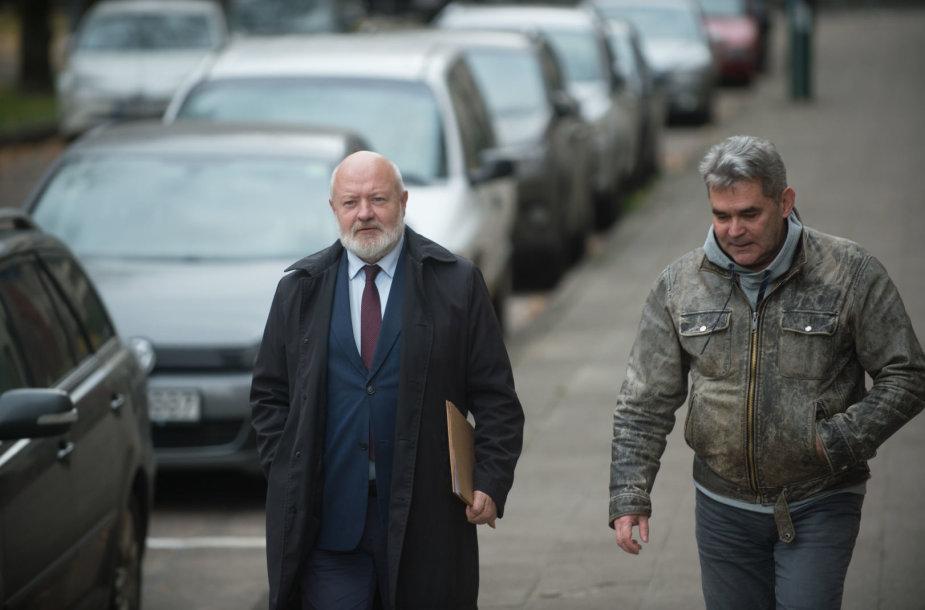 Eugenijus Gentvilas ir Gintaras Vaičekauskas