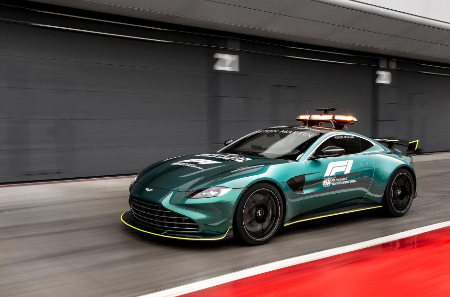 """Aston Martin"" Formulėje 1"