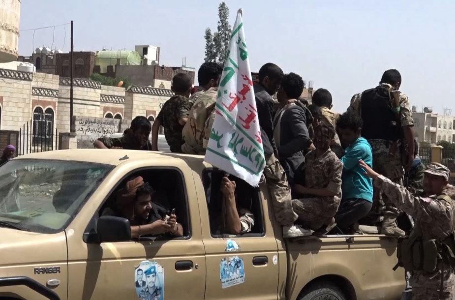 Sukilėlių kovotojai Jemene