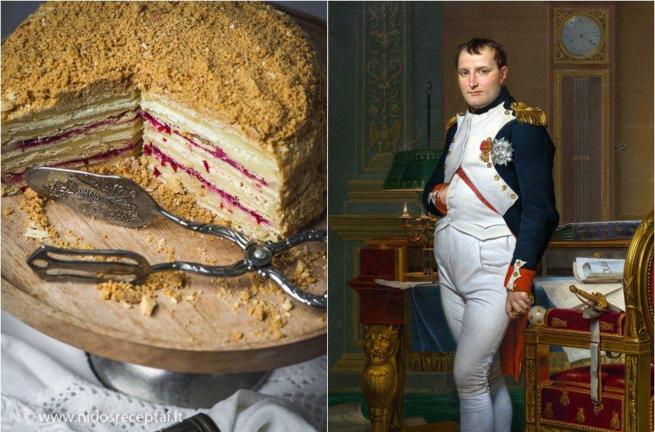 """Smetoniškas """"Napoleonas"""" ir Napoleonas Bonaparte'as"""