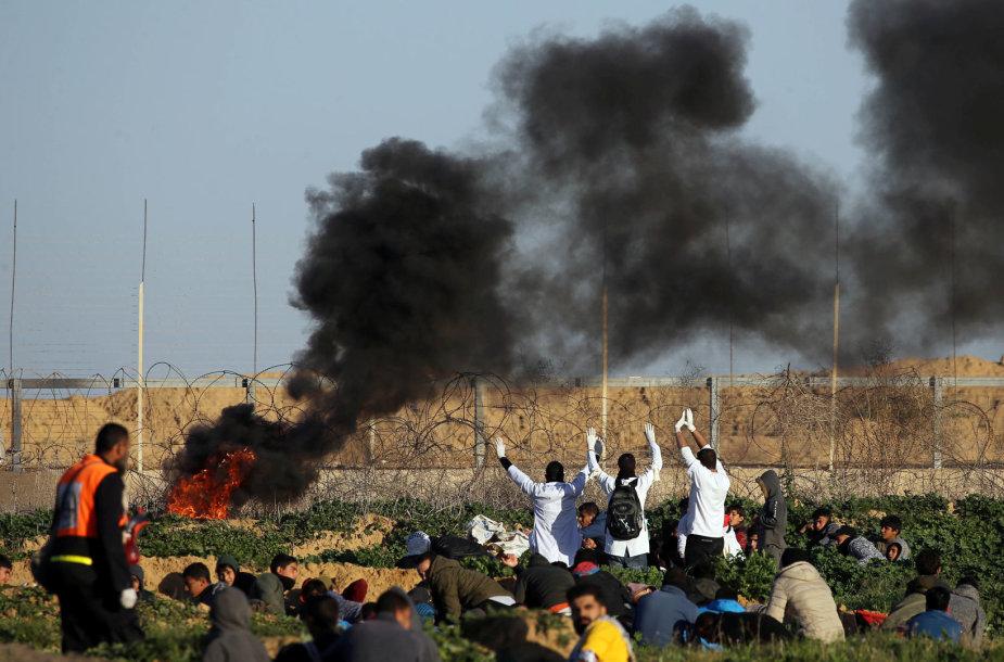 Neramumai Izraelio ir Gazos Ruožo pasienyje