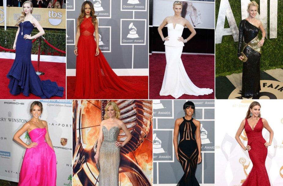 Gražiausios 2013-ųjų suknelės