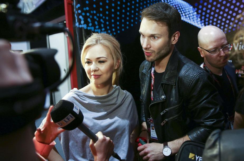 Vaidas Baumila ir Monika Linkytė