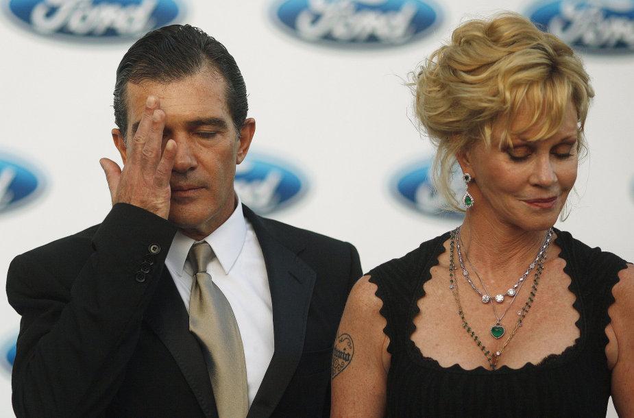 Antonio Banderas ir Melanie Griffith