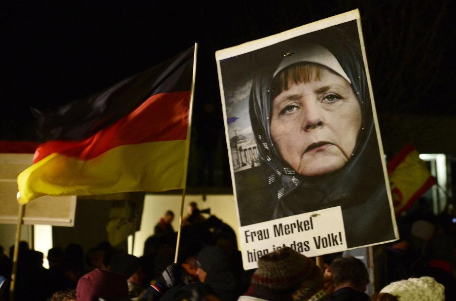 Islamo priešininkų protestai Vokietijoje