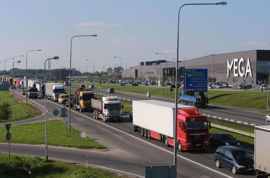 Spūstys ties Kleboniškio tiltų