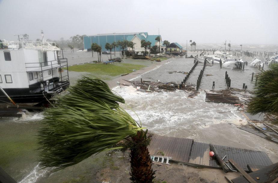 Florida po uragano Michael