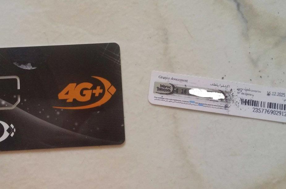 SIM kortelės Maroke