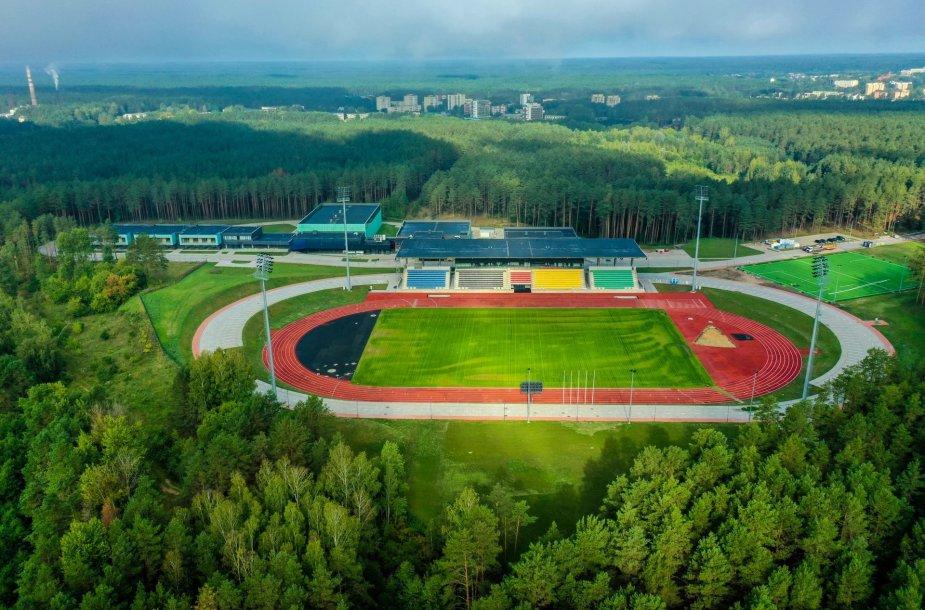 Pastatytas Druskininkų sportininkų rengimo centras