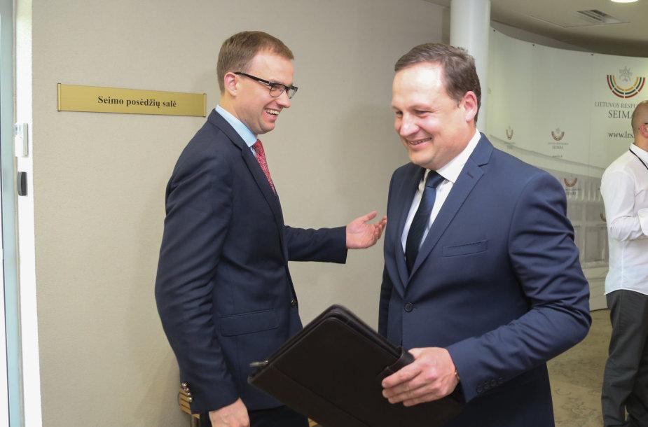 Vytautas Gapšys ir Evaldas Pašilis