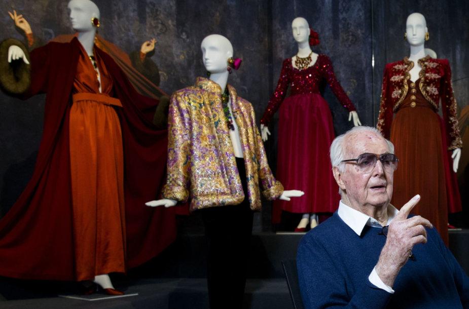 Dizaineris Hubertas de Givenchy 2016 metais