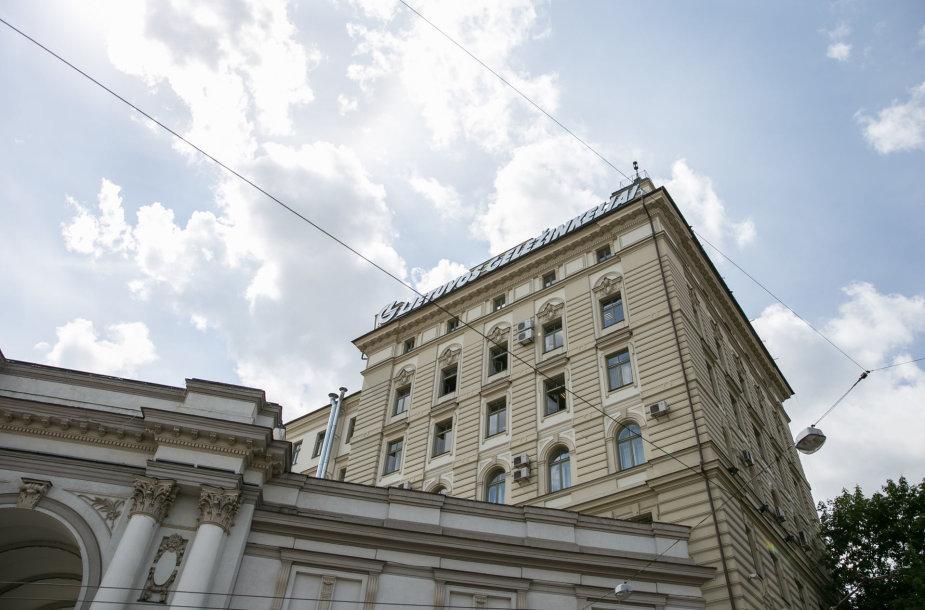 """""""Lietuvos geležinkelių"""" pastatas"""