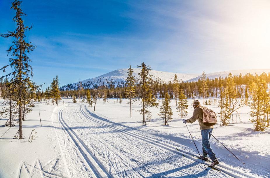Pavasarinis slidinėjimas / 123rf.com nuotr.