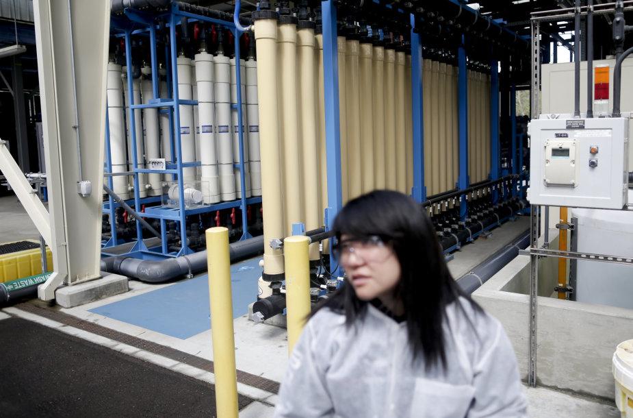 Vandens perdirbimo gamykla San Diege