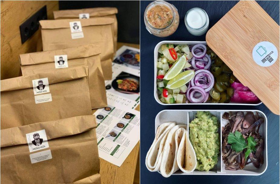 Vilniečiai ir klaipėdiečiai savo pasiūlymais palengvina maisto gaminimo rutiną