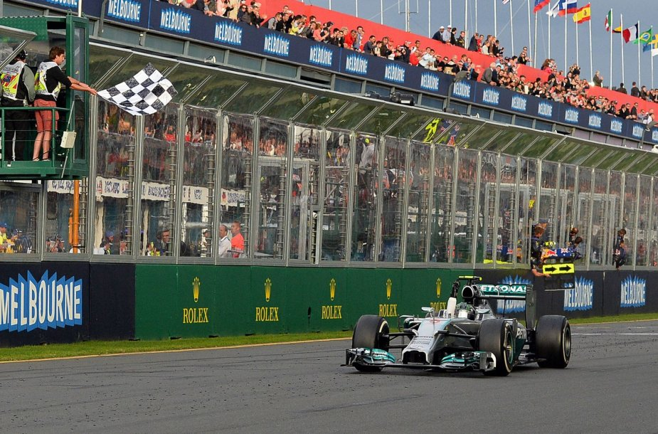 F-1 lenktynės Australijoje