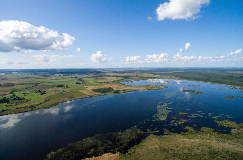 Žuvinto ežeras ir pelkės
