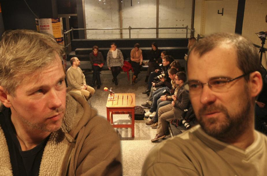 Andrius Kaniava ir Aidas Giniotis (2008 m.)