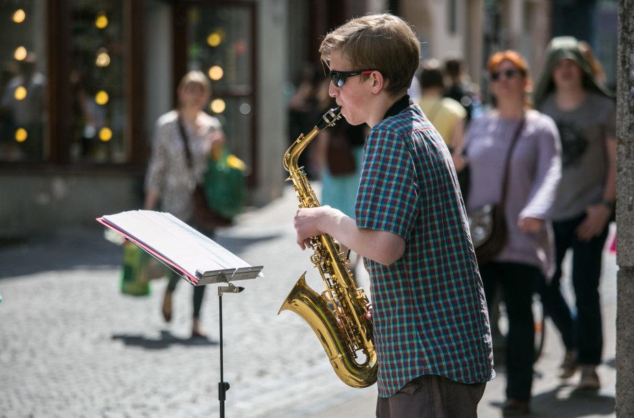 Vilniuje prasidėjo 11-oji Gatvės muzikos diena