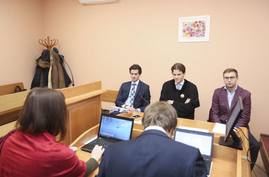 """""""Eesti meedia"""" ir Konkurencijos tarybos byla Vilniaus apygardos administraciniame teisme"""