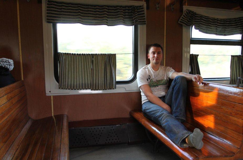 Traukinyje iš Odesos į Kišiniovą
