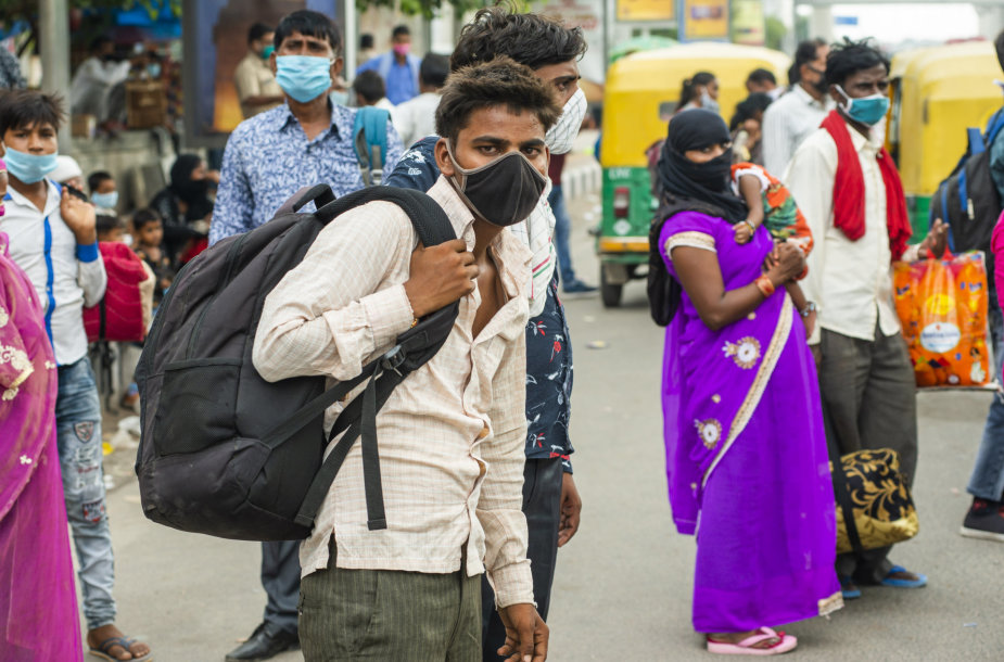 Koronavirusas Indijoje