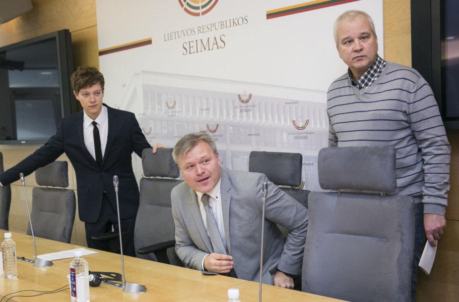 Marius Reikeras ir Raymondas Skorstadas