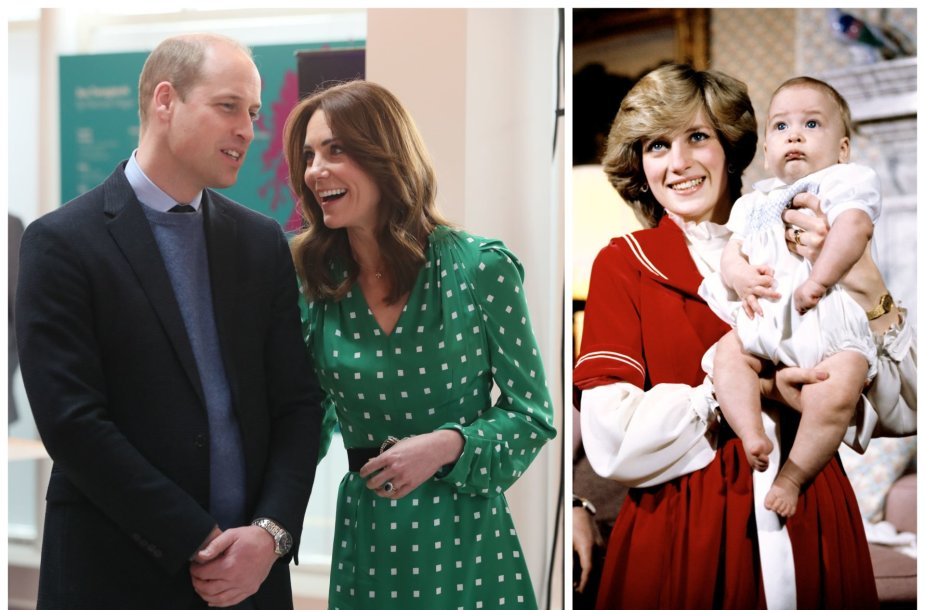 Princas Williamas, Kate Middleton, princesė Diana