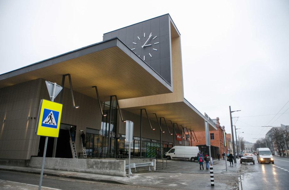 Kauno autobusų stoties atidarymas