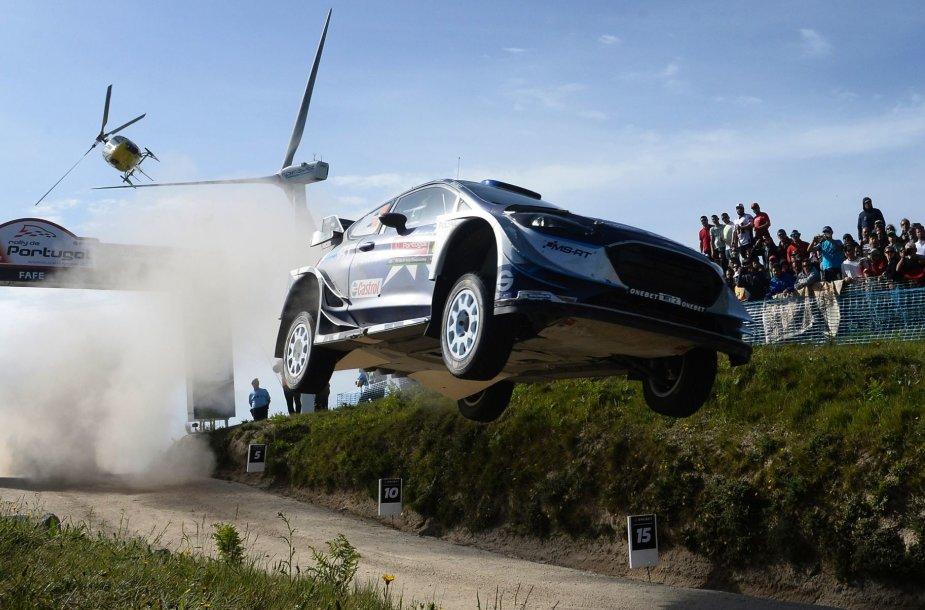 WRC Portugalijos ralis, Otto Tanakas